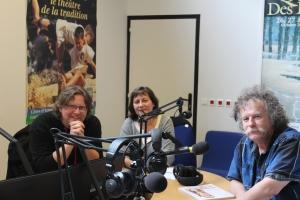 Emission radio Des Empreintes et des bulles avec Claire Arlaux