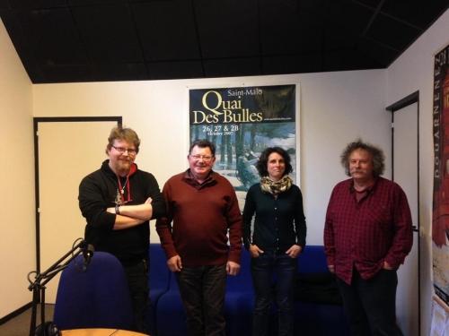 Jean-Yves Philippe invité dans des empreintes et des bulles avec Genkis Genkkis, Serg Gicquel et Morgan Large